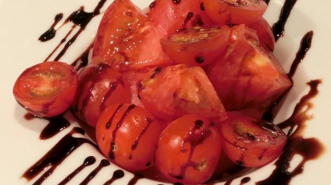 プレゴ・パケット - 料理写真:トマト・トマト・トマトサラダ