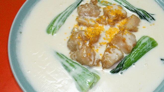広東御料理 竹香 - 料理写真:帆立クリーム煮 1500円