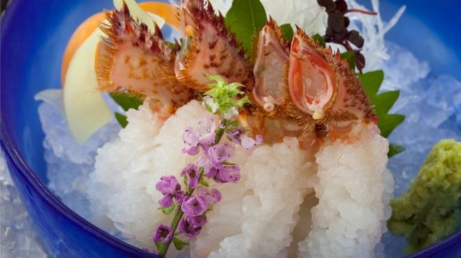 蟹工船 - 料理写真:活毛蟹洗い
