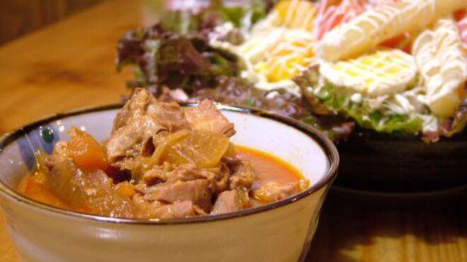 焼き鳥八丁目 - 料理写真:数量限定!!もつ煮込み
