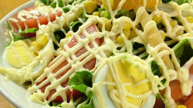焼き鳥八丁目 - 料理写真:大人気☆八丁目サラダ