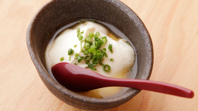 すゞき - 料理写真:こだわりの素材を使った『自家製豆腐』