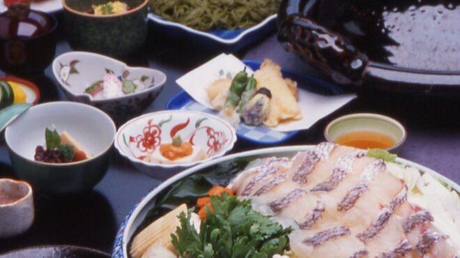 人丸花壇 - 料理写真:鯛鍋