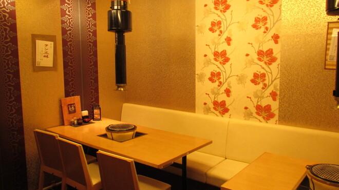 食彩和牛しげ吉 - 内観写真:プライベート空間の個室
