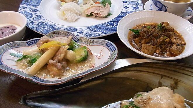 古月 - 料理写真:中医の考えにもとずきご用意する「季節の養生コース」