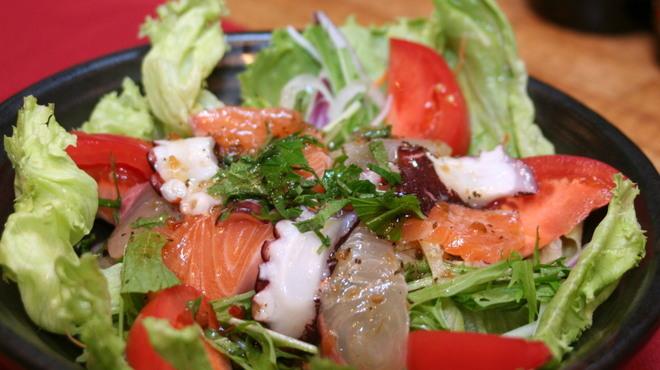 鳥乃家 - 料理写真:新鮮魚介のカルパッチョ