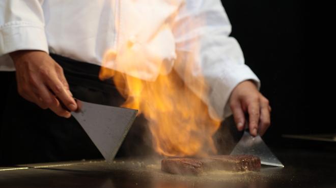 竹彩 - 料理写真:目の前で仕上げる宮崎の旬