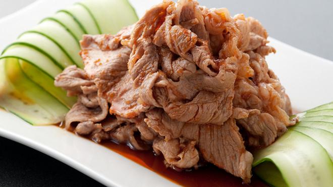 泰興楼 - 料理写真:厳選の国産黒豚使用『雲白肉 ~ウンパイロー』