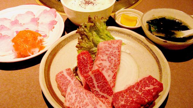 焼肉・ステーキ みーとがぁでん - 料理写真:【焼肉Aコース】