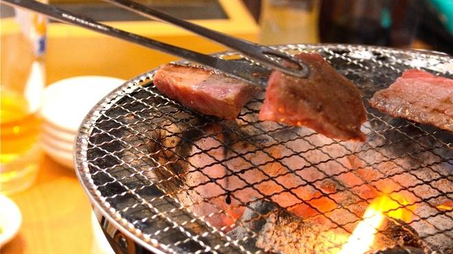 牛酔 - 料理写真:七輪で焼く極上和牛♪