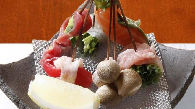 串かつ おこし - 料理写真:季節の食材は新鮮そのもの