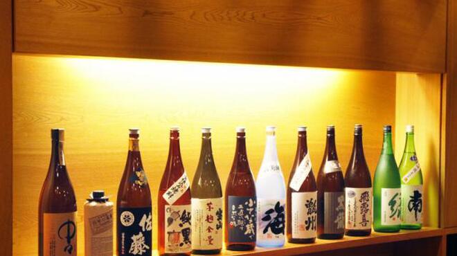 串かつ おこし - 内観写真:☆こだわりの日本酒、焼酎をぜひ‥