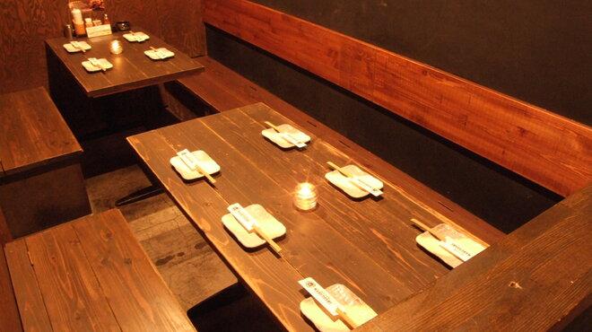 MARUYOSHI - 料理写真:ゆったり出来るテーブル席もご用意しています