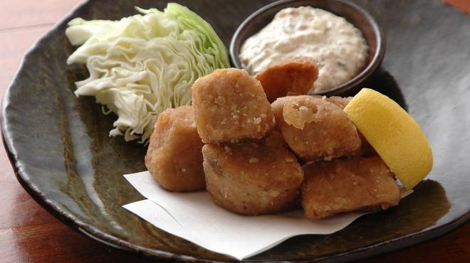 """てやん亭"""" - 料理写真:名物の山芋竜田揚げ!"""