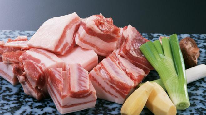 満天豚 - 料理写真:「SPF豚」にこだわり、自身で仕入れに行っています