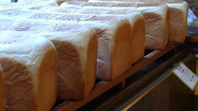 シャルムベーカリー・ポンシェ - 料理写真:食パンもふわふわです^^