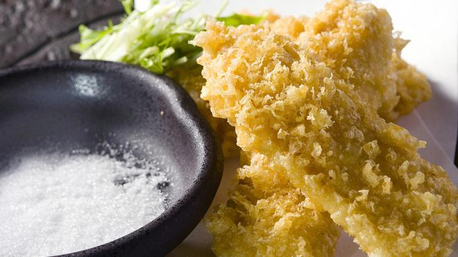 わらじや - 料理写真:とうもろこしの天ぷら