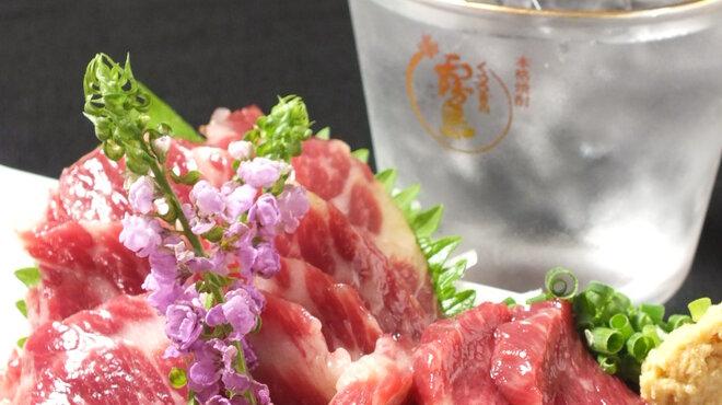 肴や だんじ - 料理写真:稀少価値の高い極上霜降り肉のみを使用!熊本本場の味を