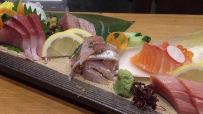 魚たつ - 料理写真:◆五島海山 彩々造り盛り合わせ◆
