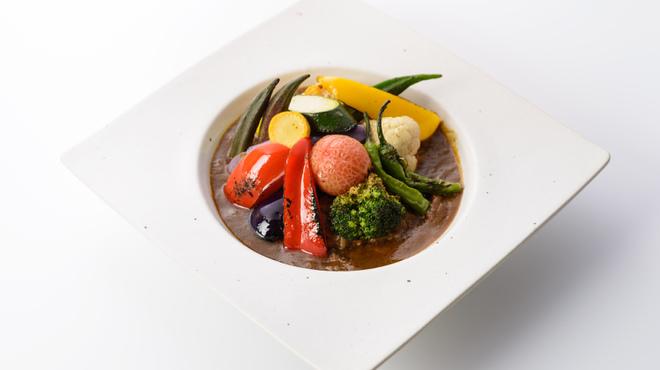 お野菜びすとろ 志あわせ - 料理写真:お野菜たっぷりチキンカレー