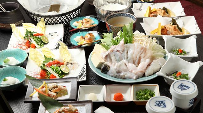 フグ料理 徳福 - 料理写真:ダイナミックにふぐを味わう『ぶつ刺し』