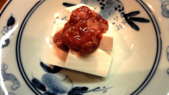 おお田 - 料理写真:酒盗クリームチーズ 600円
