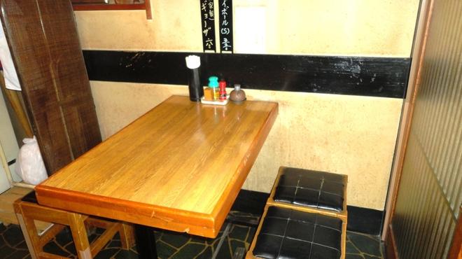 おお田 - 内観写真:テーブル席