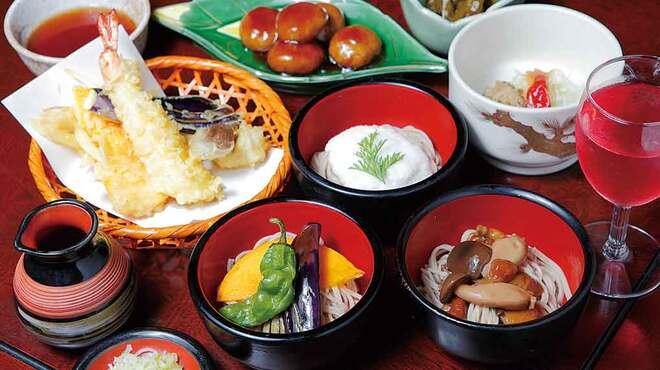 大久保西の茶屋 戸隠本店 - 料理写真:レディース膳1,880円