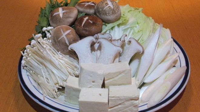まつもと - 料理写真:お野菜もたっぷり