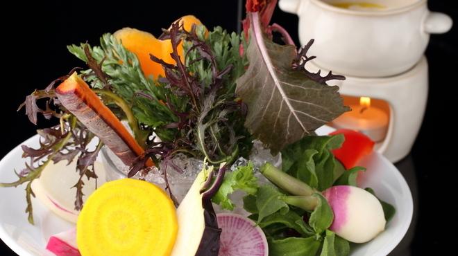 Q - 料理写真:鎌倉野菜のバーニャカウダ