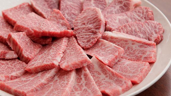ちりとり鍋・鉄板焼 一 - 料理写真:独自の仕入れルートにより肉質には絶対の自信