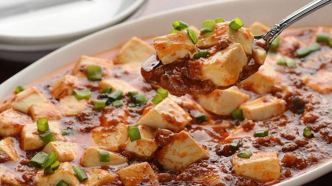 金葉 - 料理写真:【麻婆豆腐】辛みとともに旨味が感じられる自慢の麻婆豆腐。食が進む美味しさです。