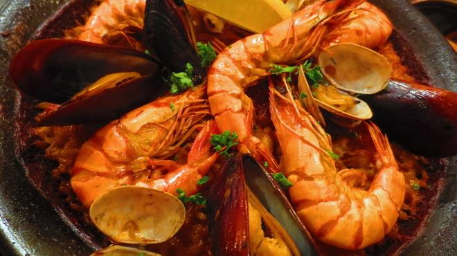 8cho - 料理写真:Paella Marina ~ 魚介のパエリア ~