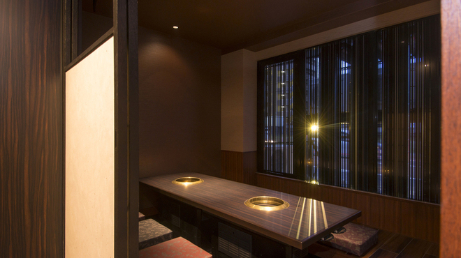 亜李蘭別邸 - 内観写真:全室個室のプライベート空間でゆったりとお過ごしください。