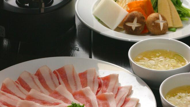 日比谷三源豚 - 料理写真:一人前 1,980円 お肉の旨み・甘みがしっかりと味わえる逸品♪