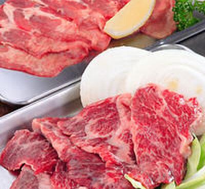 お好み焼 ひろ - 料理写真:「上牛タン」525円・「上ハラミ焼肉」1050円