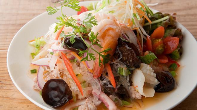 バンコック ポニー食堂 - 料理写真:ヤムウンセン