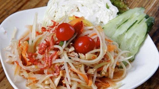バンコック ポニー食堂 - 料理写真:ソムタム