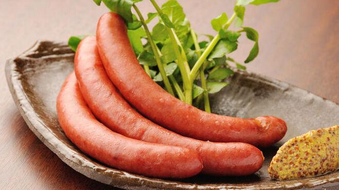 伊達の牛たん本舗 - 料理写真:牛たんソーセージ