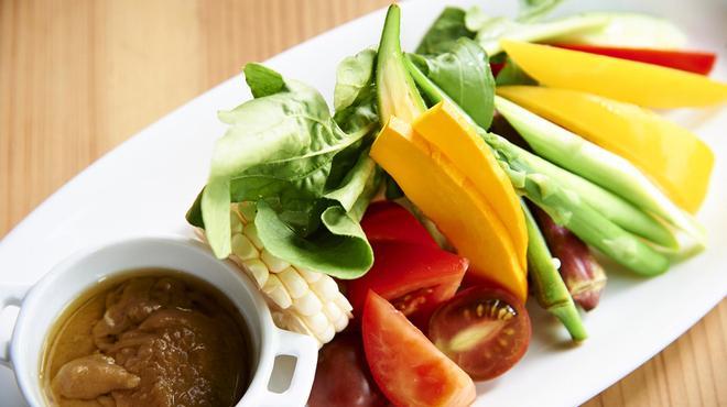 ブロッソ - 料理写真:季節の野菜のバーニャカウダー