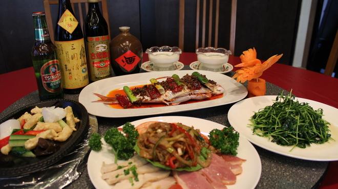 四川料理 川国志 - 料理写真:コースの一例です!