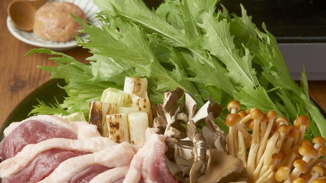 鶏鬨 - 料理写真:合鴨のハリハリ鍋