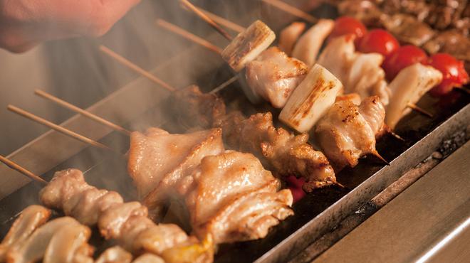鶏鬨 - 料理写真:こだわりの炭火七輪焼鳥