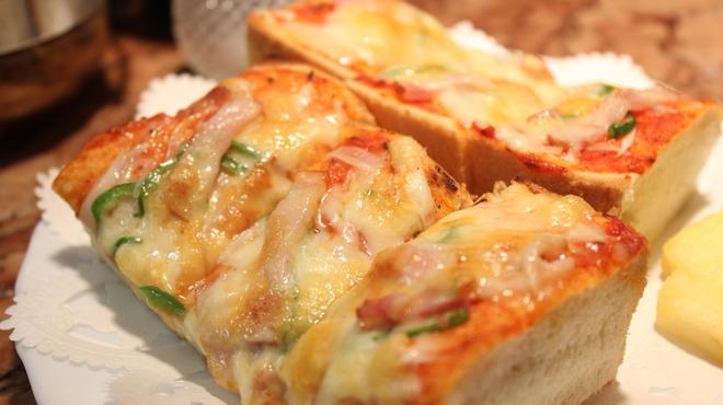サンシャイン - 料理写真:ピザトーストセット850円☆おすすめ(^-^)