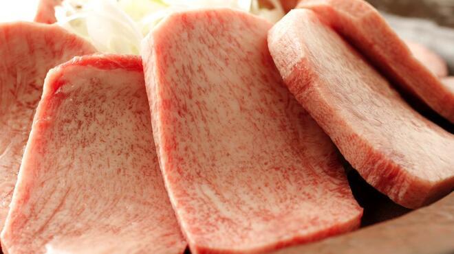 焼肉 いのうえ - 料理写真:タン元を贅沢に使用した「上タン塩」