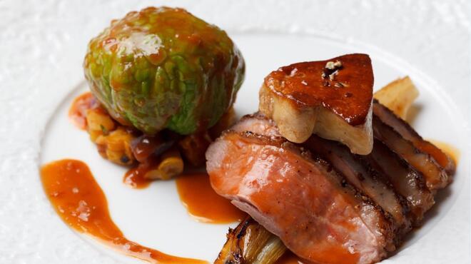 タマヤ - 料理写真:メインの鴨料理