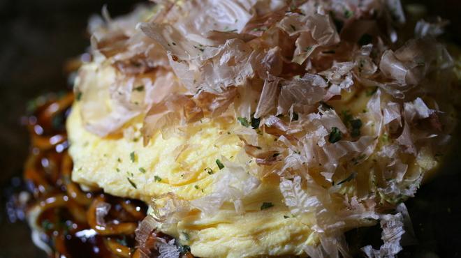 ろくもんや - 料理写真:山芋とふんわり玉子のお好み焼き