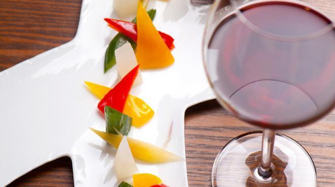 根っこや - 料理写真:特製サラダのつけもの