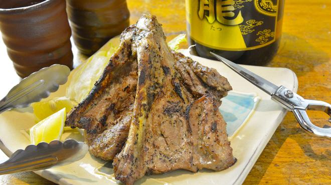 うりずん - 料理写真:島豚ソーキの塩焼き