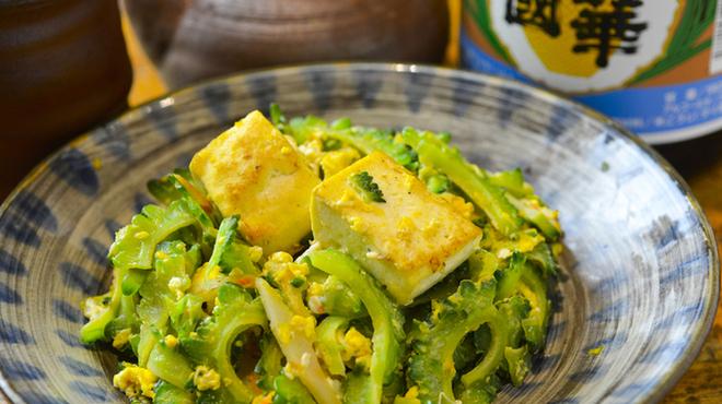 うりずん - 料理写真:ゴーヤチャンプルー